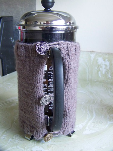 French Press Cozy (rear)