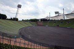 Olympiastadium München - ohne Rasen