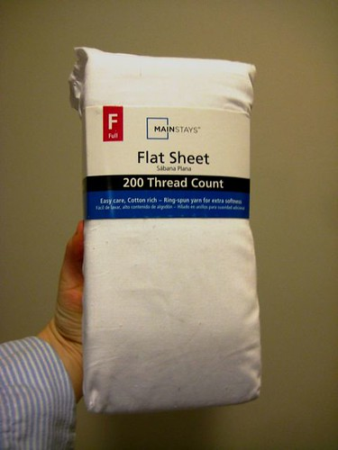 Flat White Sheet