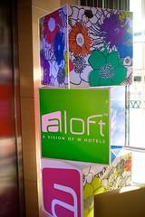 Aloft logo and artwork