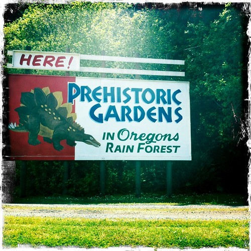 Here! Prehistoric Gardens in Oregon's Rain Forest