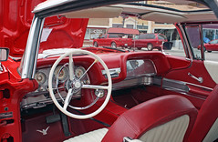 1960 Ford Thunderbird Coupe With Manually Operated Sunroof (6 of 11) (myoldpostcards) Tags: auto cars ford hardtop car fletcher illinois classiccar vintagecar automobile factory panel antiquecar interior il dash jacksonville dashboard autos oldcar thunderbird coupe sunroof owner tbird 1960 instrumentpanel fomoco 2door motorvehicle manuallyoperated fordmotorcompany collectiblecar squarebird 61111 terryfletcher plazacarshow 15thannual centralparkplaza myoldpostcards vonliski june112011