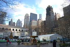 great light- Bryant Park (dnj_Brian) Tags: newyorkcity newyork manhattan nikond60 january2009 januarynew