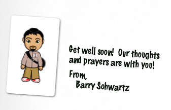 Steve Jobs Get Well Card