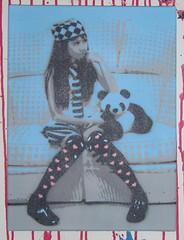 canvas-couch-teddy2 2 (fcs1) Tags: blue streetart art stencil panda kunst canvas couch sofa pandabear fcs schablone leinwand pndabr
