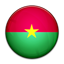 Flag of Burkina Faso PNG Icon