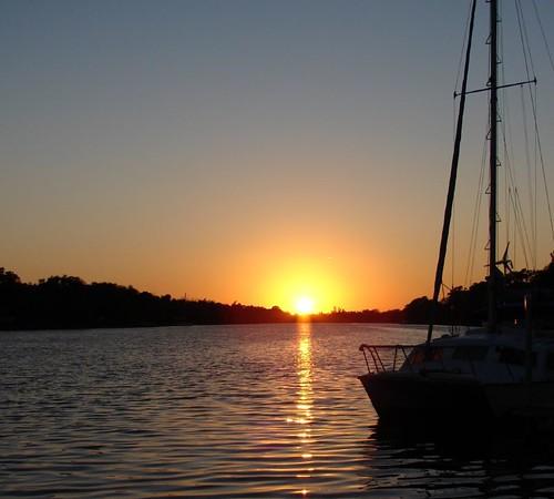 County Dock Sunset I