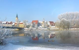 Winter an der Donau