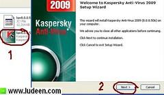 1 การติดตั้งโปรแกรม Kaspersky