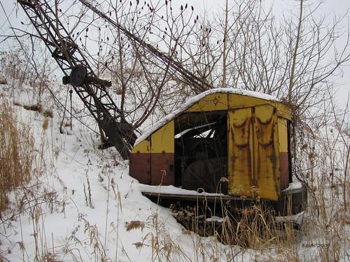 Derelict Crane
