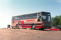 Another lost identity. (Renown) Tags: buses cheshire tiger caribbean coaches leyland macclesfield congleton highfloor singledecker duple trctl11 a336wca ejbostocksons bostocksofconcleton coachoperators