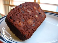 Apricot and Ginger Chocolate Loaf Cake