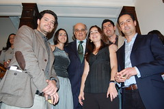 Ambassador Ricardo V. Luna and the Peruvian architects (theportablegallery) Tags: london peru festival architecture portable gallery lima sophie luna embassy architect alberto le manuel ricardo lucia opening growing federico shantytown peruvian dominguez pains bienvenu dunkelberg mindreau pflucker