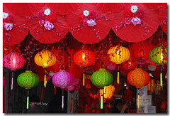 Lunar New Year, Spring Festival (lh tanG) Tags: red color catchycolors colorful chinesenewyear kl petalingstreet latterns folkclore