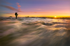 Standing In The Middle Of Nowhere : Olympic National Park (kevin mcneal) Tags: ocean sunset nature sunrise canon landscape olympicpeninsula adventure haystack canon5d olympicnationalpark nationalgeographic extremephotography coolshot colorphotoaward kevinmcneal canon5dmk2