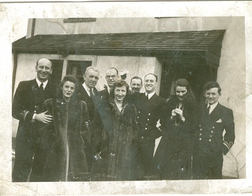 Florence Otway second from left