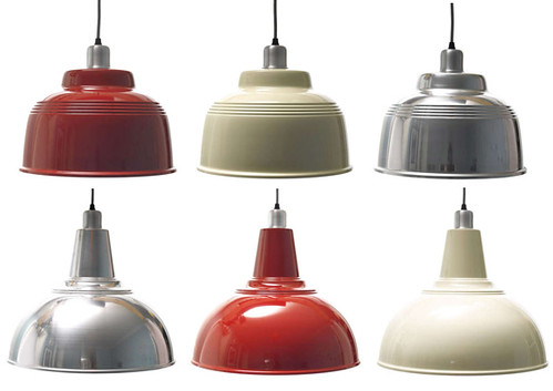 retro kitchen lamps from Pedlars