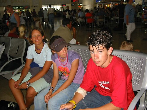 wachten in Antalya luchthaven