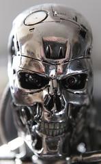 Terminator Cinemaquette T-800 #371 (bernov69) Tags: metal silver skeleton robot replica cameron figure terminator figurine 13 android t2 jamescameron terminator2 cyberdyne skynet cinemaquette judgmentday 60cm 24inches t800 endoskeleton toynami efs1755usmis cyberdynesystems canonefs1755 canon40d endoskelleton skynetcyberdyne