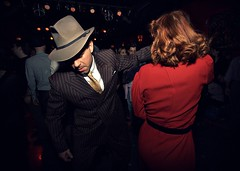 The untouchable. (.:grana:.) Tags: party italy milan rockroll dancefloor dolcevita anni50 canon1022 gangstar 580exii newapollodancing royalburlesque voodoodeluxe