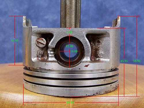 H25A, J20A Piston specs - Suzuki Forums: Suzuki Forum Site