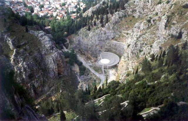 Στερεά Ελλάδα - Βοιωτία - Δήμος Λεβαδέων Αρχαίο Θέατρο, Λιβαδειά, Βοιωτία
