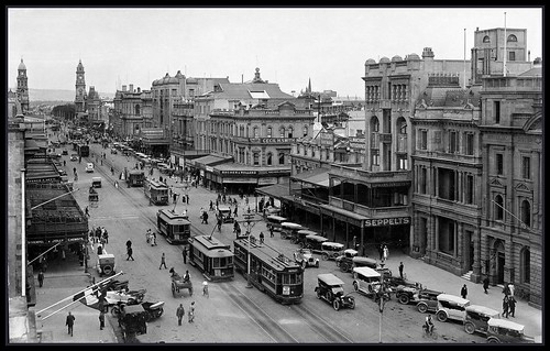 King William Road, Adelaide, South Australia 1923
