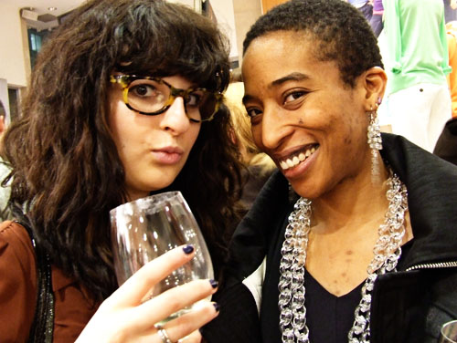 Olga and Anita at The Gap