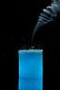 Candle Smoke Water Splash (Sergiu Bacioiu) Tags: blue water studio nikon candle smoke splash d300