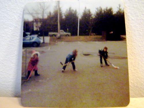 I was always the goalie