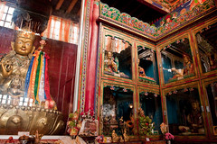 Ladakh-371 (Kelly Cheng) Tags: travel india color colour building heritage tourism horizontal architecture temple colorful asia religion culture vivid buddhism indoor monastery tibetan colourful himalaya himalayas jk ladakh gompa subcontinent jammukashmir chemray kashmirjammu drugpaorder