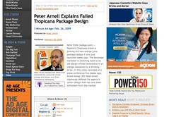 Peter Arnell Explains Failed Tropicana Package Design - Advertising Age - Video_1235667955276