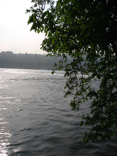 Prague, near the water