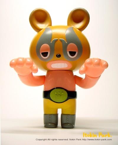 LASH x Itokin Park Lucha Bear