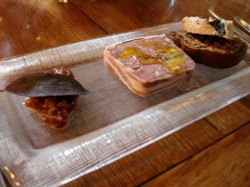 My venison & wood pidgeon terrine