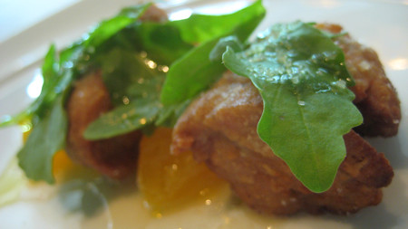 Roasted Sweetbreads at Jean Georges