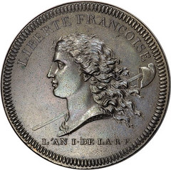 1792 French Libert� Fran�oise Medal