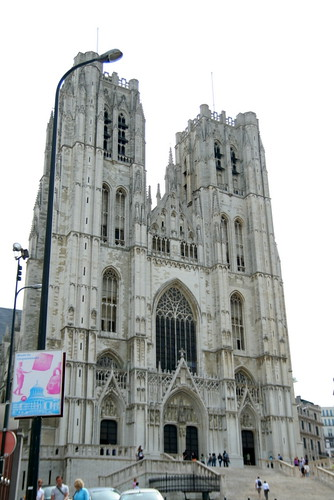 Brussels Cathedral  by you.