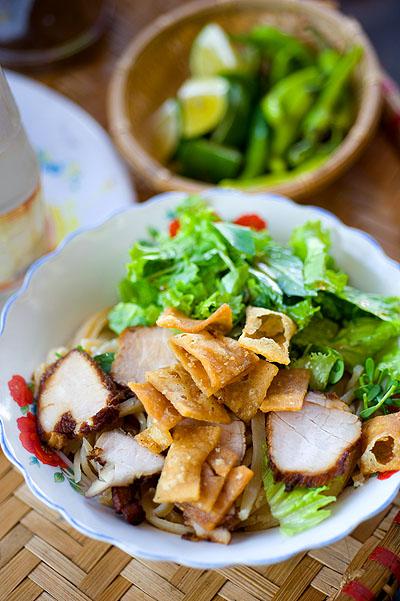 A bowl of câu lầu, Hoi An, Vietnam