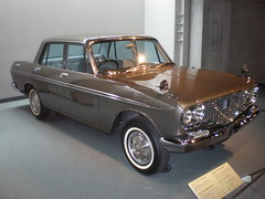 Toyopet Crown RS41, 1963 (Joel Abroad) Tags: cars japan museum vintage automobile nagoya toyota crown 1963 toyopet
