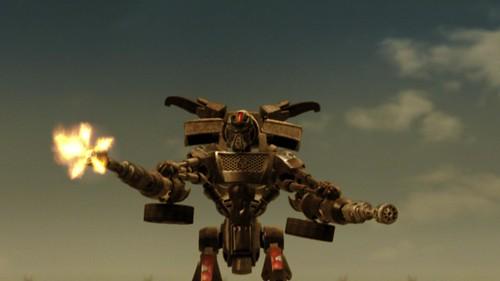 Robot Transmorphers: Fall of Man