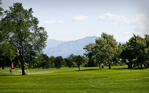 a random picture of a Utah course