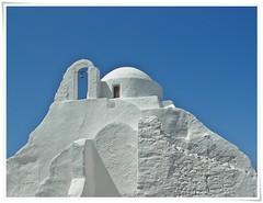 The Church of Panagia Paraportiani - Mykonos - Greece (AvQuu) Tags: blue fab sky white church branco azul island bell cu bleu greece igreja cruzeiro blanc ilha mykonos sino grcia bej panagiaparaportiani citrit theunforgettablepictures theunforgettablepicture theperfectphotographer flickrestrellas spiritofphotography rubyphotographer paololivornosfriends travelsofhomerodyssey