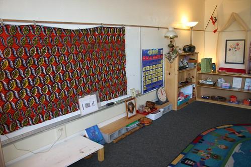Shaye's new classroom