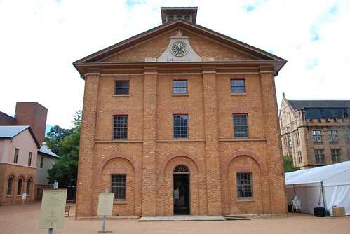 The Hyde Park Barracks, Sydney