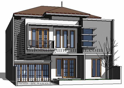 Galeri ide Eksterior Rumah Minimalis Modern 2 Lantai 2015 yg menawan