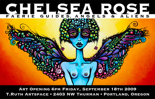 Chelsea Rose Solo Gallery show