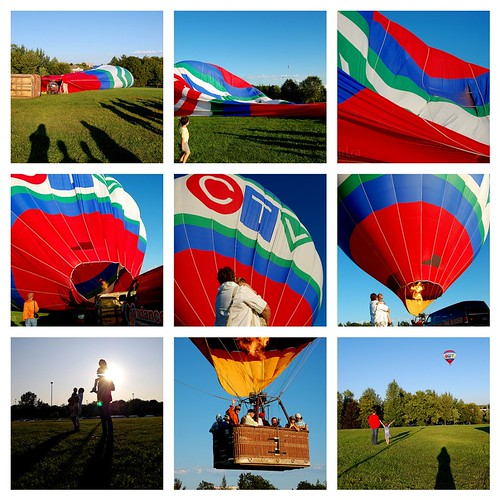 Papa Lou's Excellent Hot Air Balloon Adventure