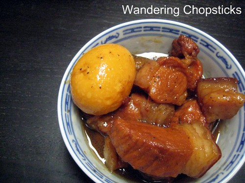 Thit Kho Trung  (Vietnamese Braised Pork with Eggs) 2