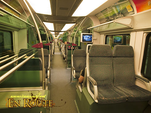 KLIA Express Train Interiors